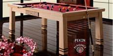 Billards Plaisance Pekin Tapis Bordeaux
