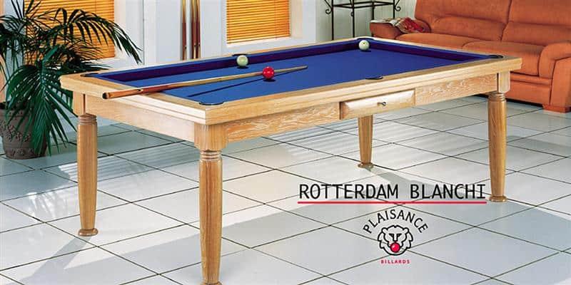 Billards Plaisance Rotterdam Blanc et Tapis Bleu