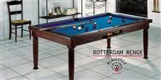 Billards Plaisance Rotterdam Wengé Tapis Bleu