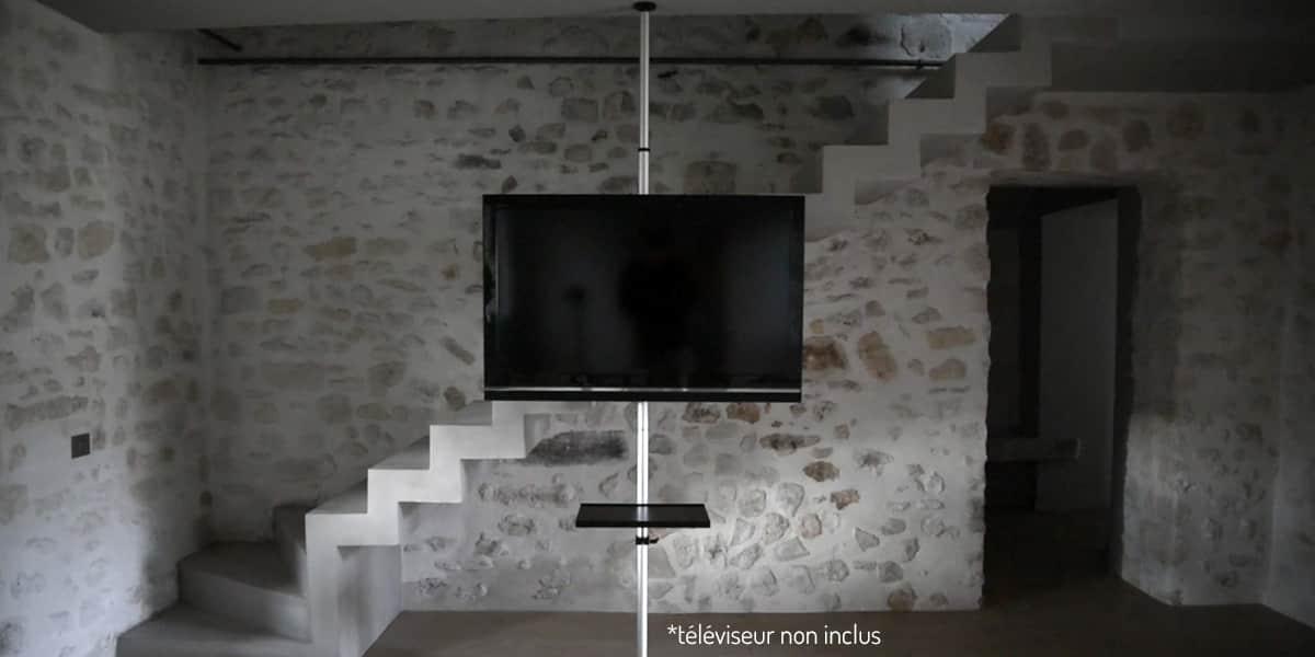potorose potorose supports tv muraux sur easylounge. Black Bedroom Furniture Sets. Home Design Ideas