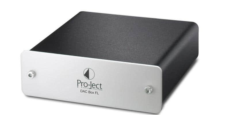 Pro-ject DAC BOX FL Argent