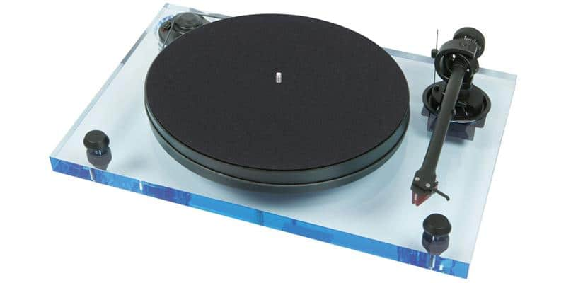 Pro-ject 2-Xperience Primary Acryl Bleu
