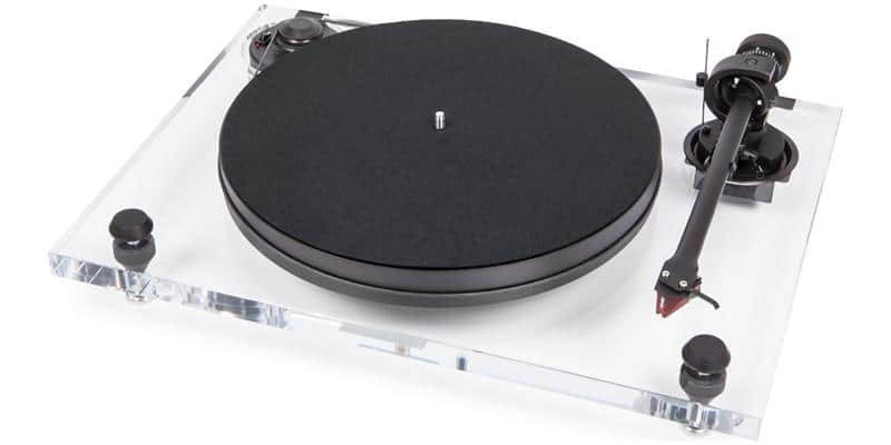 Pro-ject 2-Xperience Primary Acryl Transparent