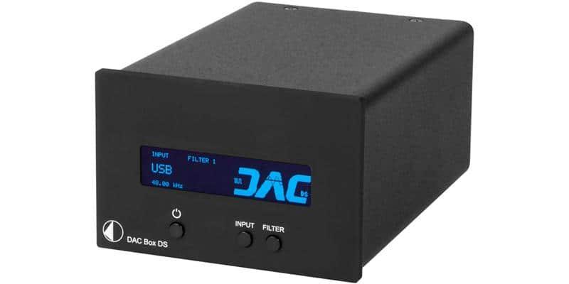Pro-ject Dac Box DS Noir