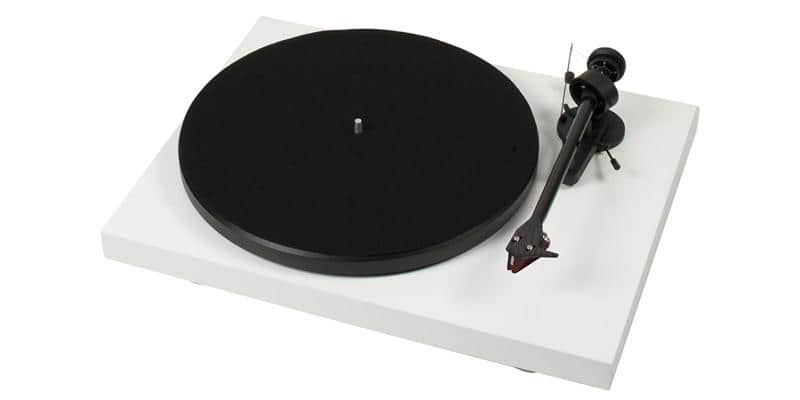 Pro-ject Debut Carbon 2M Red Blanc laqué