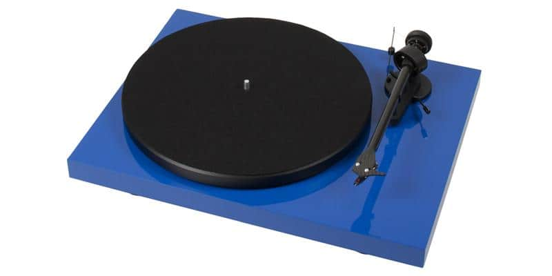 Pro-ject Debut Carbon Reference Bleue laqué