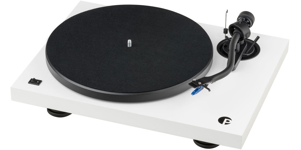 Pro-ject Debut III S Audiophile Blanc laqué