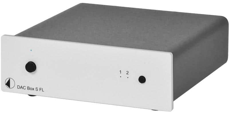 Pro-ject Dac Box FL S Silver