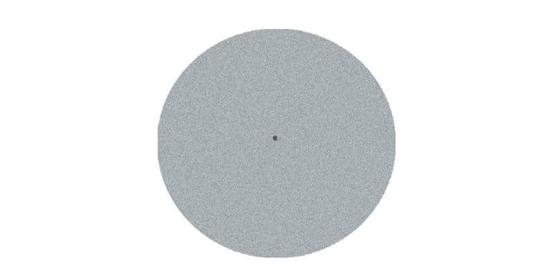 Pro-ject Feutrine gris clair 28 cm