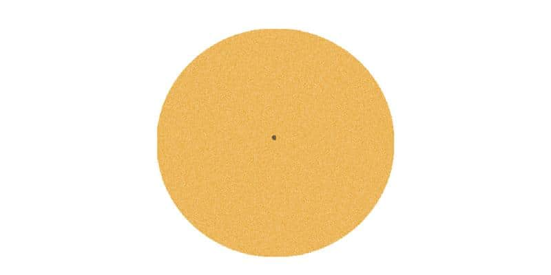 Pro-ject Feutrine orange 28 cm