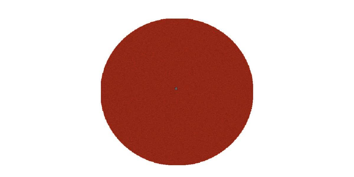 Pro-ject Feutrine rouge foncé 28 cm