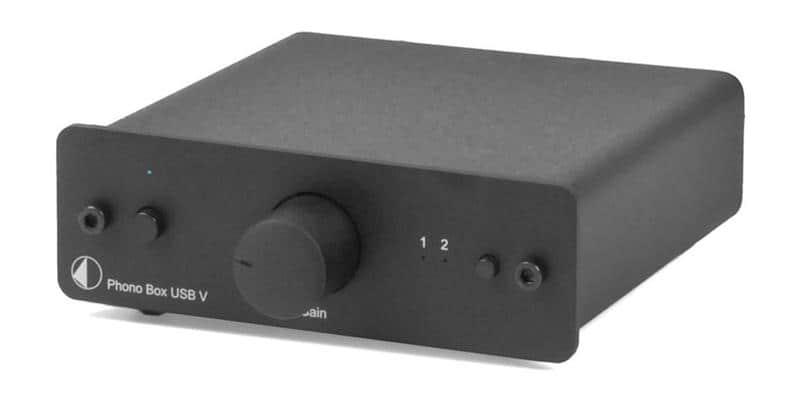 Pro-ject Phono Box USB V DC Noir