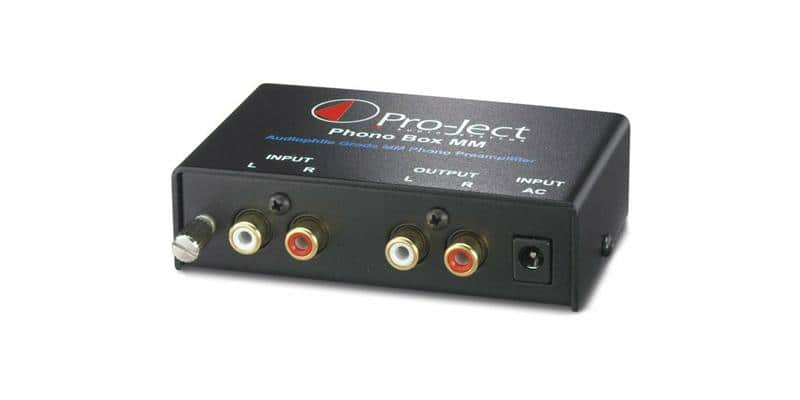 Pro-ject Phono Box MM DC Noir