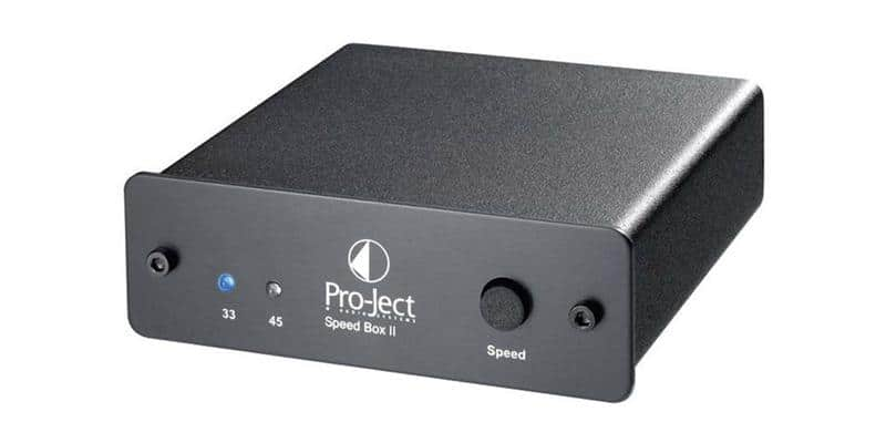 Pro-ject Speed Box II Noir
