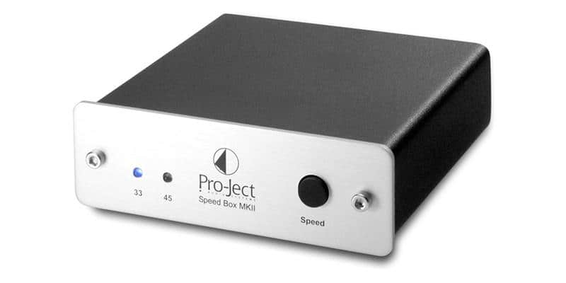 Pro-ject Speed Box II Argent