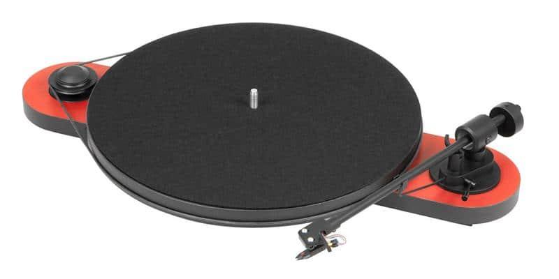 pro ject elemental noir rouge platines vinyle hi fi sur easylounge. Black Bedroom Furniture Sets. Home Design Ideas