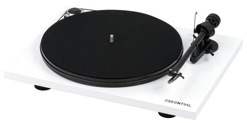 Pro-ject Essential III OM-10e Blanc