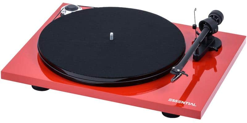 Pro-ject Essential III OM-10e Rouge laqué
