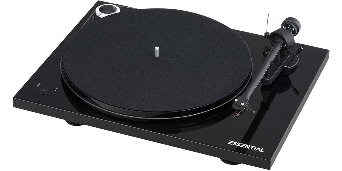 Pro-ject Essential III Recordmaster Noir laqué