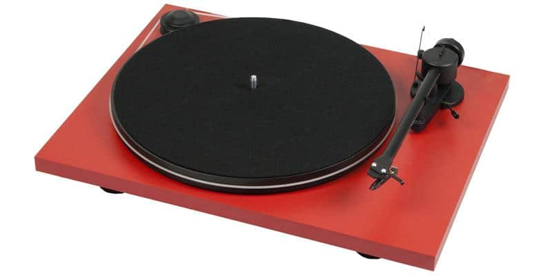 Pro-ject Essential II USB Rouge