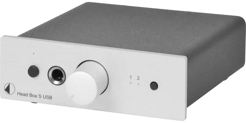 Pro-ject Head Box S USB Argent