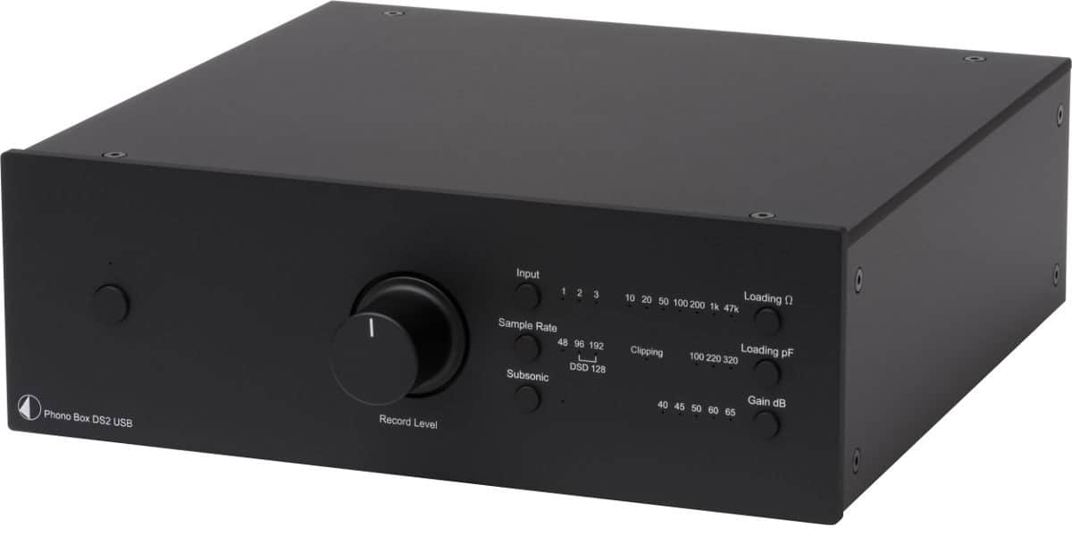 Pro-ject Phono Box DS2 USB Noir