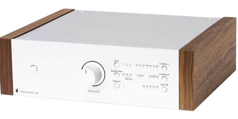 Pro-ject Phono Box DS2 USB Silver et Noyer