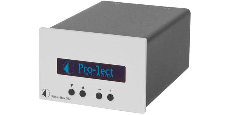Pro-ject Phono Box DS Plus Argent
