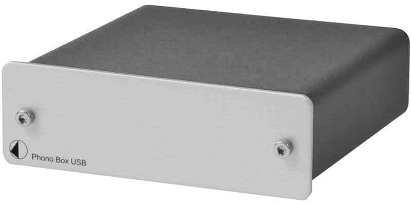Pro-ject Phono Box USB DC Argent