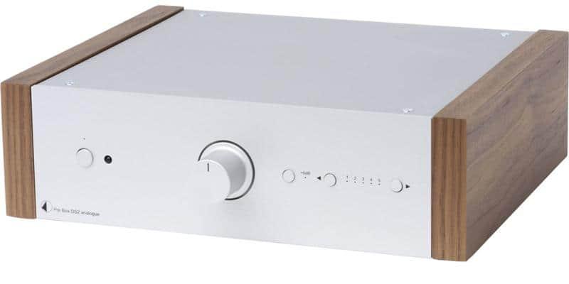 Pro-ject Pre Box DS2 Analogue Silver et Noyer