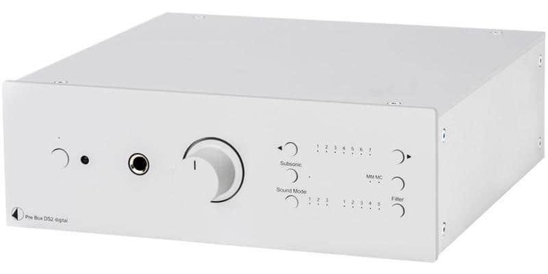 Pro-ject Pre Box DS2 Digital Silver