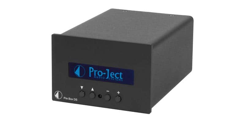Pro-ject Pre Box DS Noir