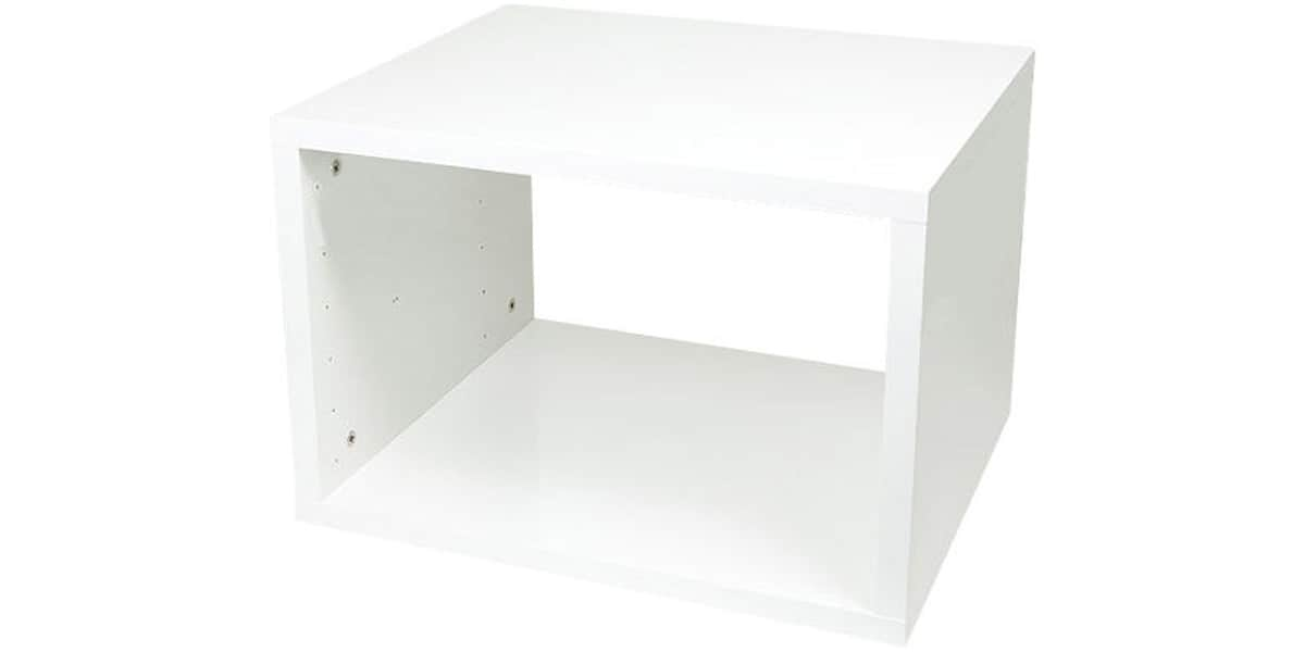 pro ject rack it cube blanc mat easylounge. Black Bedroom Furniture Sets. Home Design Ideas