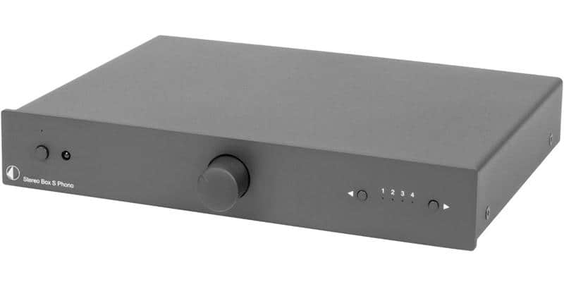 Pro-ject Stereo Box S Phono Noir