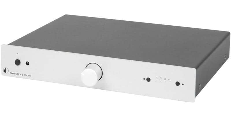 Pro-ject Stereo Box S Phono Silver