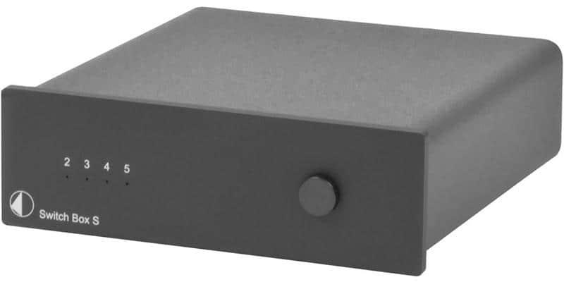 Pro-ject Switch Box S Noir