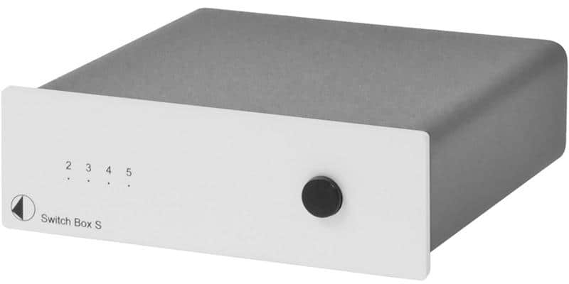 Pro-ject Switch Box S Silver