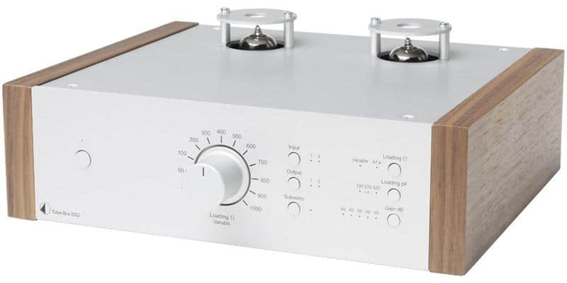 Pro-ject Tube Box DS2 Silver et Noyer