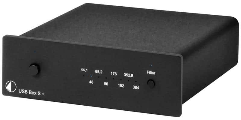 Pro-ject USB Box S + Noir