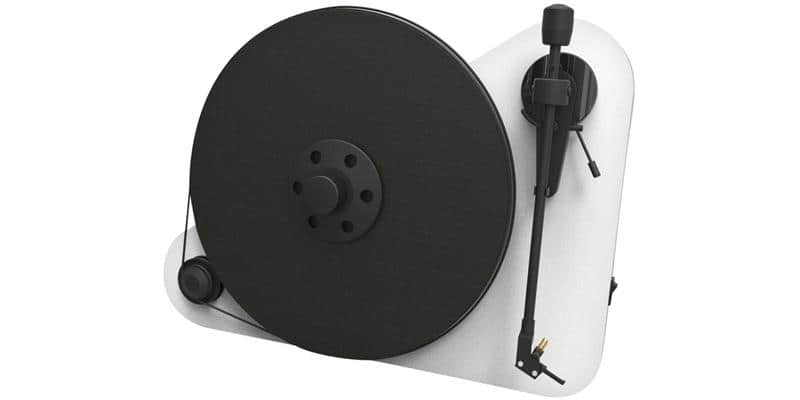 Pro-ject Vertical Turntable E droitier OM5e Blanc