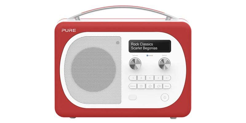 Pure Evoke D4 Mio Bluetooth Rouge