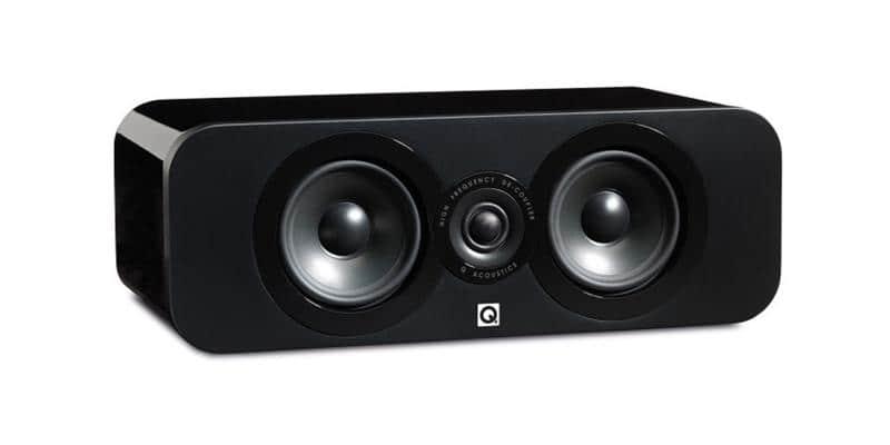 Q Acoustics Concept Centre Noir