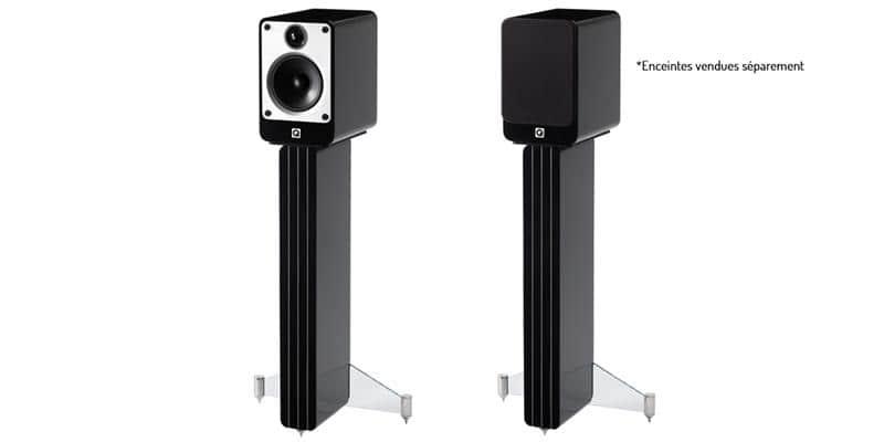 Q Acoustics Pieds Concept20 Noirs