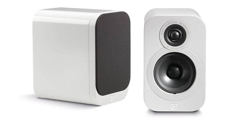 Q Acoustics 3010 Blanc laqué