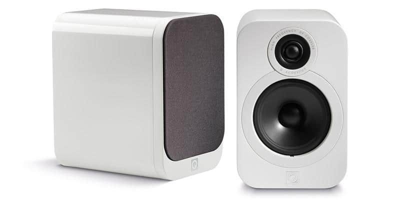 Q Acoustics 3020 Blanc laqué