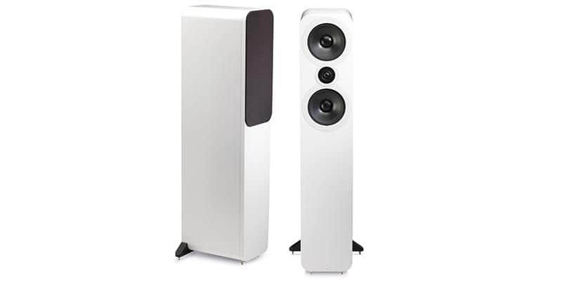Q Acoustics 3050 Blanc laqué