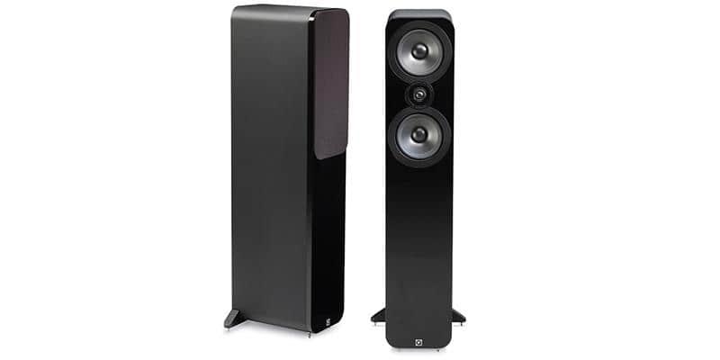 Q Acoustics 3050 Simili-cuir noir