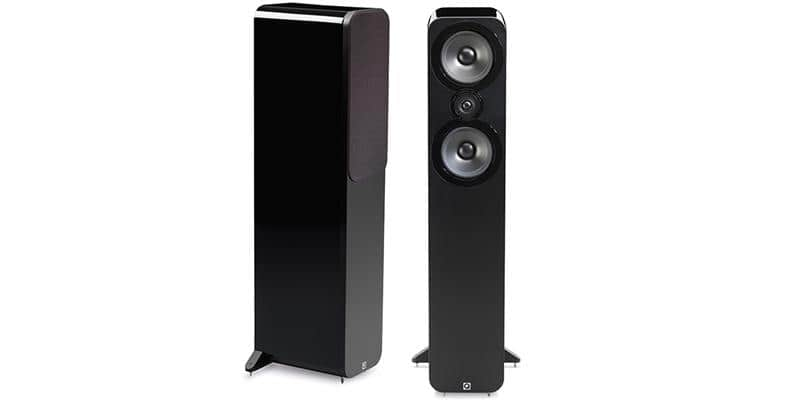 Q Acoustics 3050 Noir laqué