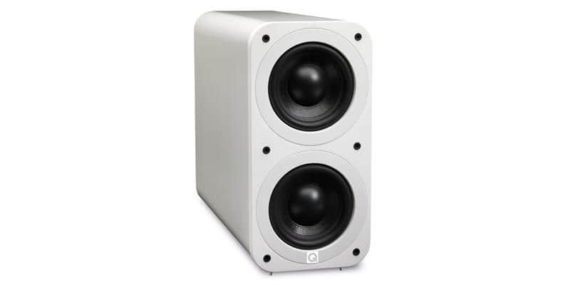 Q Acoustics 3070S Blanc laqué