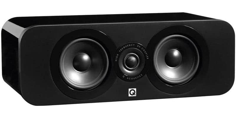 Q Acoustics 3090C Noir Laqué